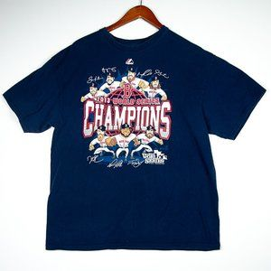 2013 Boston Red Sox Champs Caricatures w Autos Tee
